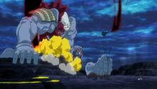 Ichigo cortando a un Kushanāda