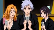 O303 Rangiku i Momo oglądają kartkę Isane