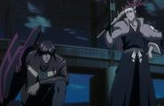 Renji arrives to assist Sado