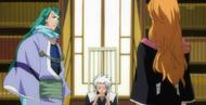 Hitsugaya informs Rangiku of the thefts