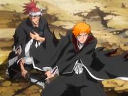 Od61 Ichigo, Renji i Rukia