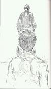 Aizen y Kaname en el pasado