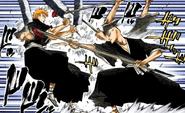 87Ichigo and Ikkaku clash