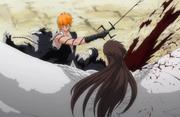 Ichigo menebas Aizen