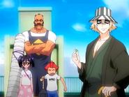 O7 Jinta, Tessai i Ururu z Kisuke