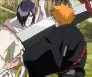 Shizuku megtámadja Ichigót