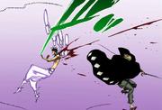 Askin se enfrenta a Kisuke