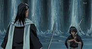 Byakuya kontra kontrolowana Rukia