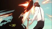 Ep353 Shukuro blokuje atak Ichigo