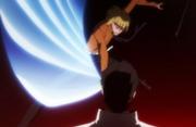 Shinji menyerang Aizen