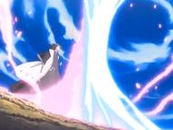 Byakuya kontra Getsuga Tenshou Ichigo