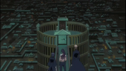 754px-Ichigo, Rukia and Yoruichi at the entrance to the Senkaimon