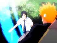 O14 reakcja Ichigo na łuk Uryu