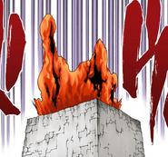 574Lava erupts