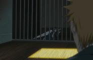 Rukia appears before Ichigo