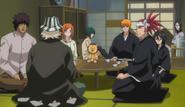 Urahara explains Inaba dangai research