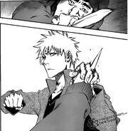 Ichigo detiene la acuchillada