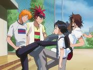 O67 Mizurio zauważa podobieństwo u Ichigo i Renjiego w traktowaniu Keigo