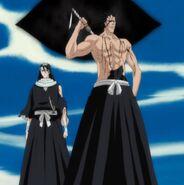 Zaraki i Byakuya
