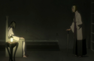 Inaba greets the man in flashback