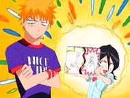 O10 rysunek wyjaśniający Rukii dla Ichigo