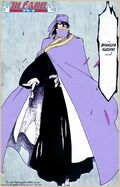Byakuya portant le Oken