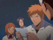 O68 Ichigo, Renji, Uryu i Orihime dostają list