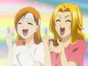 Orihime y Matsumoto