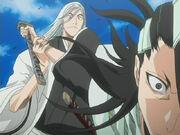 Ukitake stopping Byakuya (1)