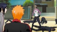 Ikumi scolding Ichigo for excuses