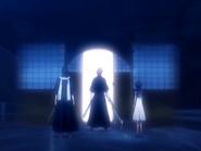 O17 Byakuya, Rukia i Renji udają się do Soul Society