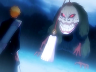 O9 Grand Fisher prezentuje Ichigo przynętę w postaci Masaki