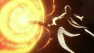 Reigai-Ukitake dispels Yamamoto's attack