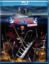 Bleach Fade to Black Blu-Ray Cover