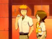 O15 Kon przeprasza Rukię i Ichigo za ucieczkę