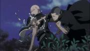 Moe golpea a Ikkaku