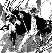 C193p20 Kisuke ratuje Ichigo
