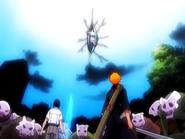 O14 Ichigo i Uryu patrzą na Menos Grande
