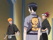 O66 Ichigo, Renji, Uryu i Kon trafiają do labiryntu