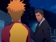 O9 Ichigo rozmawia z Isshinem
