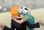 Ep192Nel abraçando Ichigo