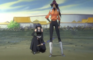 245Yoruichi and Sui-Feng appear