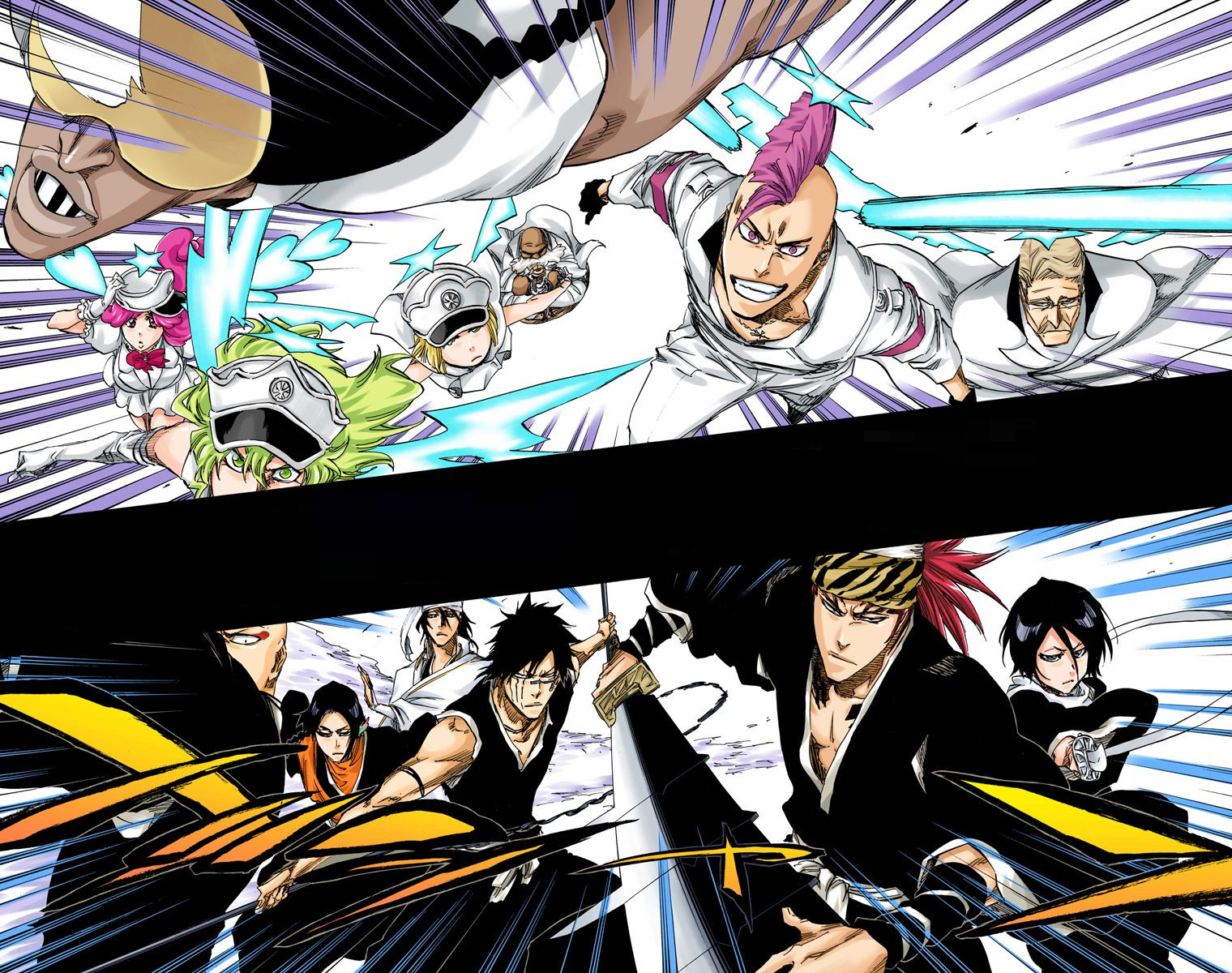 The Gotei 13 Vs The Sternritter Bleach Wiki Fandom Powered By Wikia