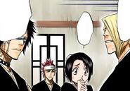 94Izuru, Hinamori, Renji, and Hisagi learn
