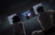 Rangiku appears before Haineko and Narunosuke