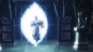 Ichigo and Kon enter the Senkaimon