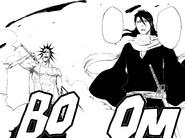379Byakuya and Kenpachi arrive