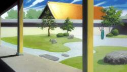 Lapangan latihan Byakuya