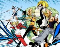Visored listos para pelear manga