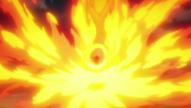 Yamamoto Reiatsu Elemental de Fuego